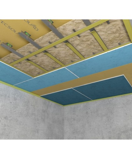 Каркасная система звукоизоляции потолка «Премиум М»