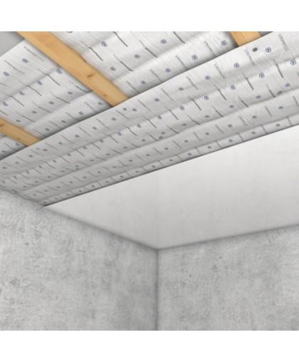 Базовая система звукоизоляции под натяжной потолок