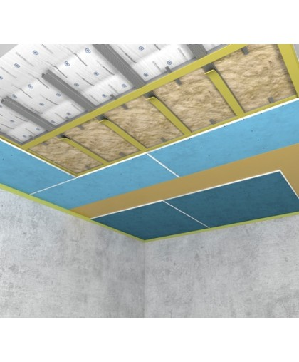 Каркасная система звукоизоляции потолка Стандарт М