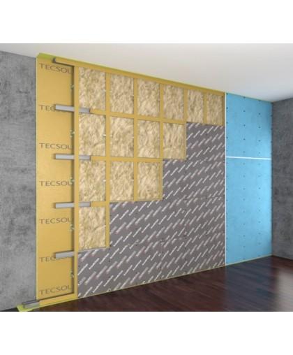 Каркасная система звукоизоляции стен «Премиум М1»