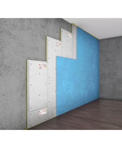 Бескаркасная система звукоизоляции стен «Слим А»