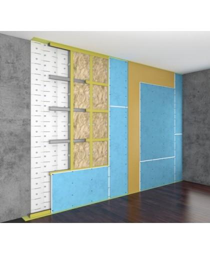 Каркасная система звукоизоляции стен «Стандарт М»