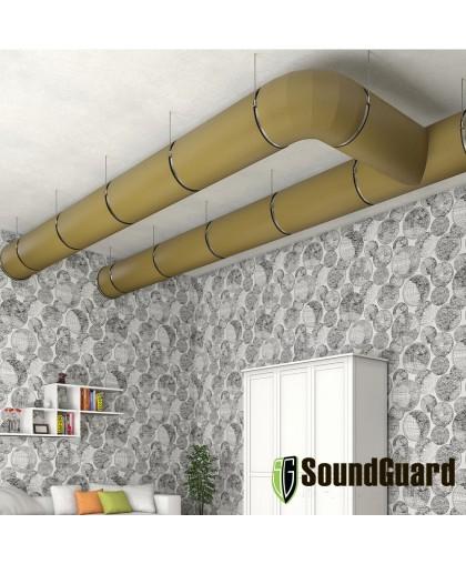 Звукоизоляция вентиляции мембраной