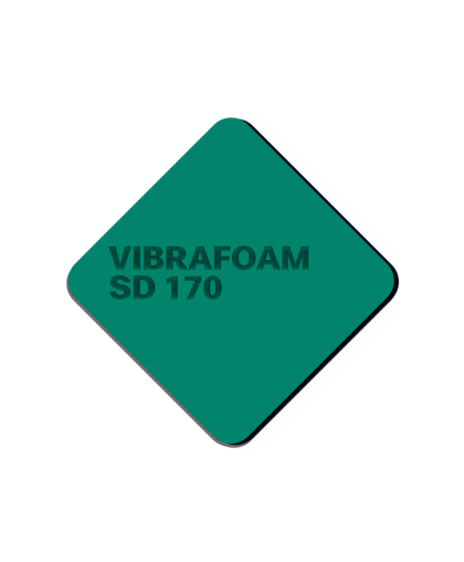 Эластомер Vibrafoam SD 170 (Тёмно-зелёный силомер)