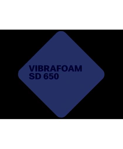 Эластомер Vibrafoam SD 650 (Тёмно-синий силомер)