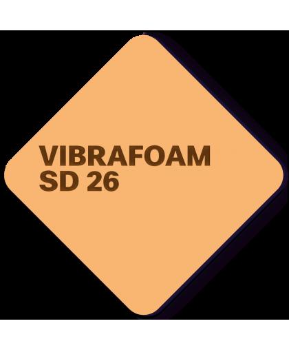 Эластомер Vibrafoam SD 26 (Оранжевый силомер)