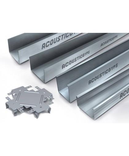 Профиль АкустикГипс ( AcousticGyps) ПС Усиленный 50/50, 3 м